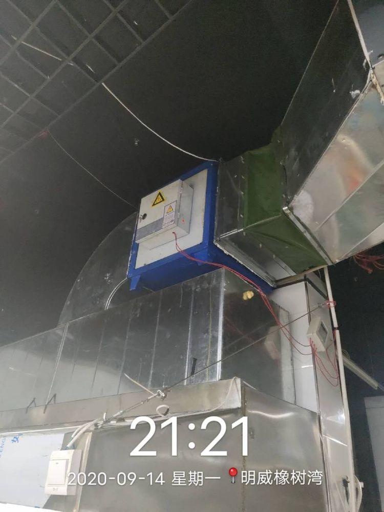 长安城管执法韦曲中队开展辖区15家餐饮单位日常检查